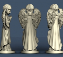 3-д фигура ангела