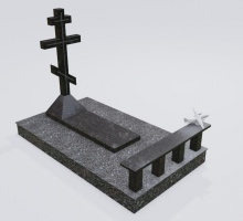 №3 фото 3д Крест.