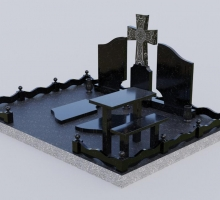 3D проект Хачкар