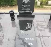 Памятник 80 см карельский гранит.