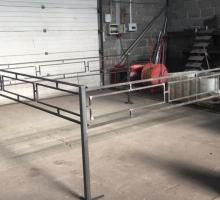 Изготовление сварных оград различных форм и размеров для кладбища