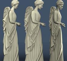 Проект ангела в 3Д. Модельрование.