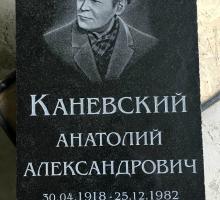 Различные шрифты и надписи на памятнике, плитах