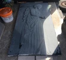 Полуфабрикат ангел вырезан на чистовую. Далее полировка и покраска.