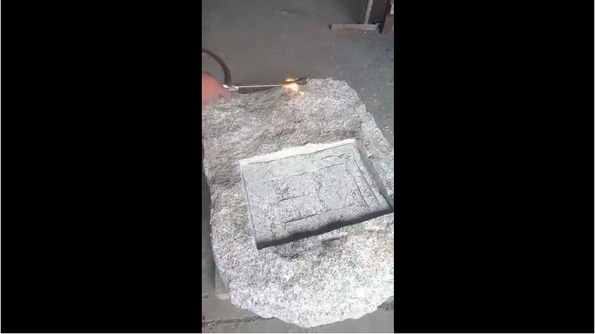 Обжиг камня